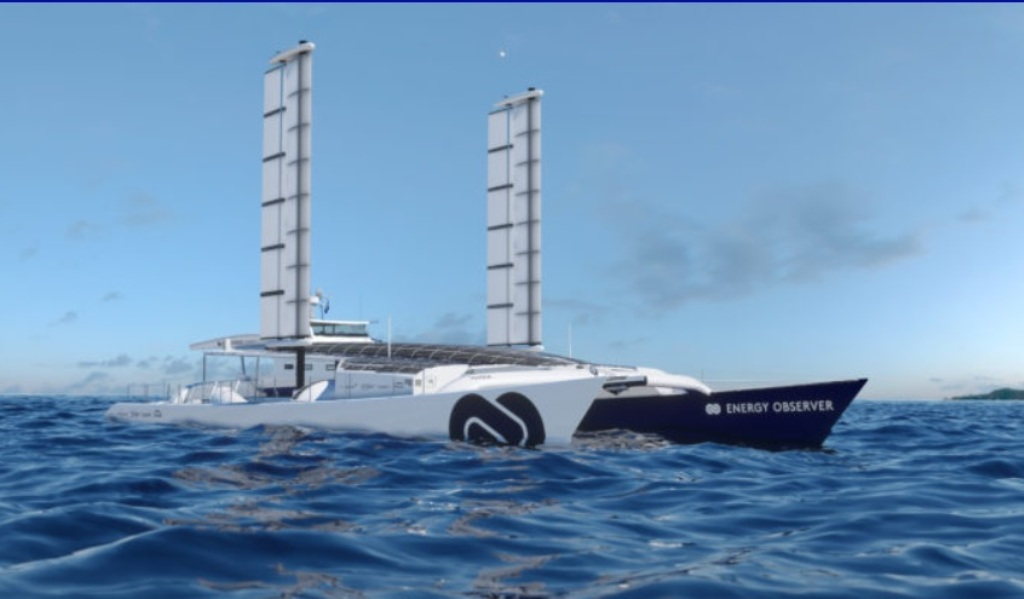 Energy Observer, bateau du futur